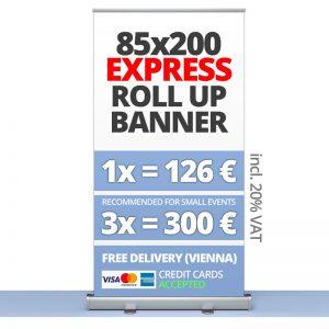 Pull Up Banner Vienna